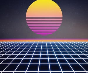 aesthetic and vaporwave image