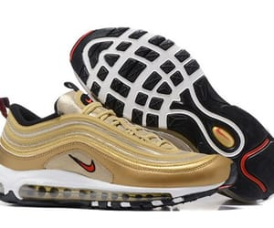 air, gold, and nike image