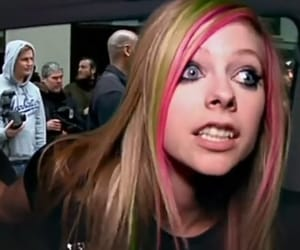 00s, Avril Lavigne, and hair image