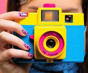 camera, nails, and photo image