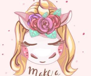 make a wish, unicorn, and wallpaper image