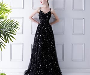 prom dress, prom dresses, and tulle dress image