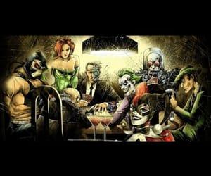 batman, freeze, and harlequin image