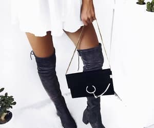 boots, outfit, and style image