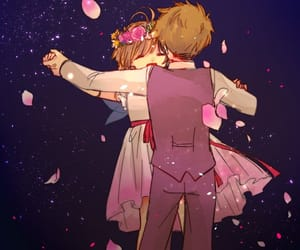 anime, fanart, and anime couple image