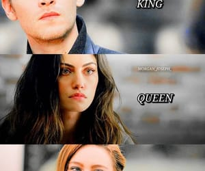 king, princess, and Queen image