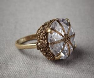 engagement, jewellery, and ring image