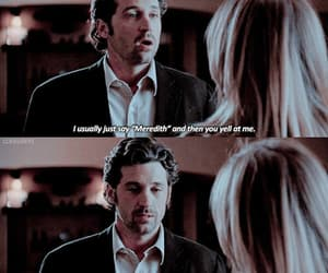 couple, meredith grey, and quotes image