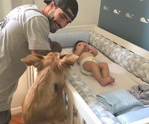 baby, bebe, and daddy image