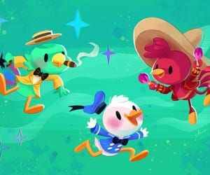 donald duck, panchito pistoles, and the three cabarellos image