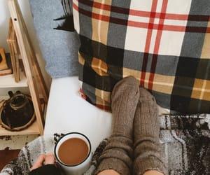 autumn, cozy, and coffee image