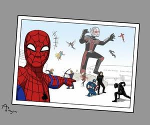 Marvel, spiderman, and antman image
