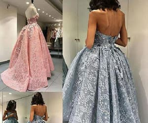 ball gown prom dresses, prom dresses lace, and a-line homecoming dress image