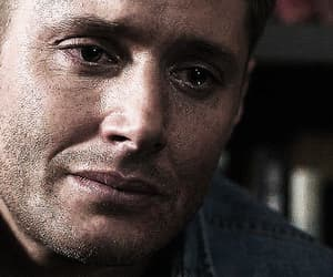 actor, dean winchester, and funny face image