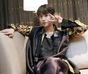 jin, bts, and 2018 image