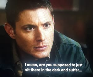 dean, supernatural, and winchester image