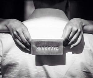 reserved, love, and couple image