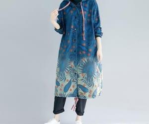 etsy, long coat, and jacket for women image