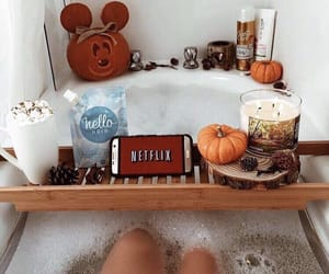 autumn, fall, and netflix image