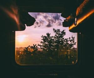 beautiful, dark, and train image