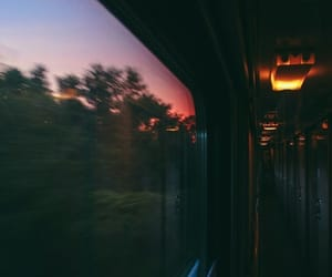 indie, window, and train image