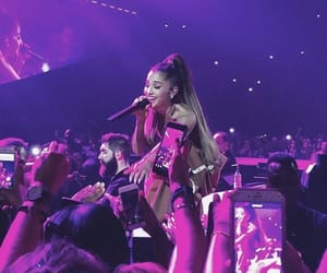 concert, purple, and smile image