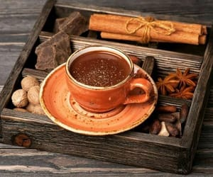 autumn, fall, and chocolate image