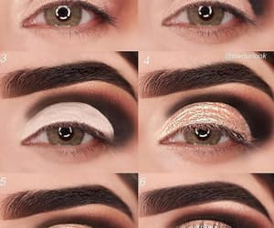 beauty, brown, and eyebrows image