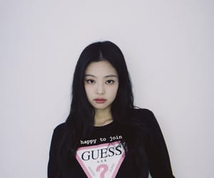 guess, blackpink, and jennie image