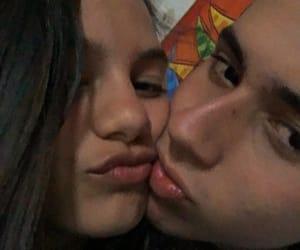 girlfriend, boyfriend, and lips image