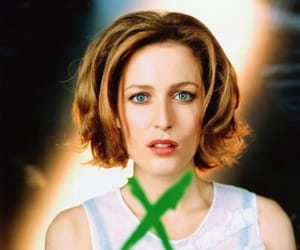 gillian anderson, scully, and x files image