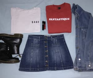 clothes, doc martens, and kpop style image