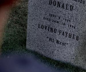 cemetery, father, and supernatural image