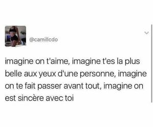 amour, imagine, and phrase image