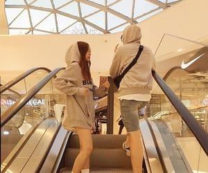couple, fashion, and Relationship image