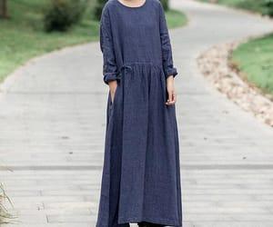 etsy, long dress, and women dress image