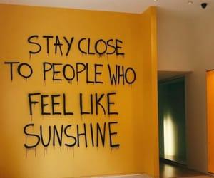 yellow and sunshine image