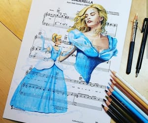 art, disney, and cinderella image