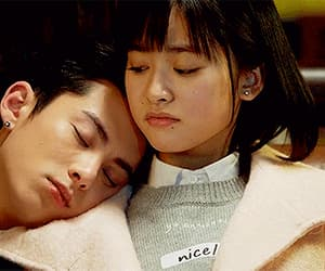 couple, meteor garden, and caisi image