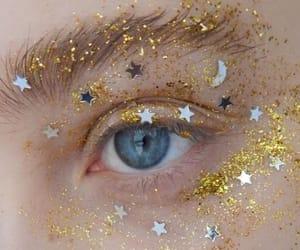 eyes, stars, and aesthetic image