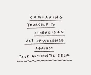 comparison, yourself, and quote image