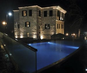 Greece, hotel, and winter image