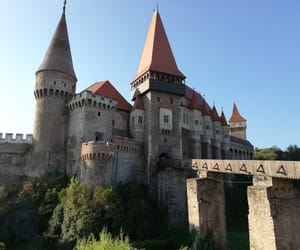 castle, romania, and view image