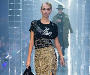 fashion, daphne groeneveld, and philipp plein image