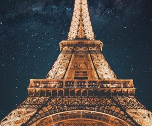 city, france, and tour eiffel image
