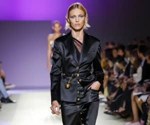 anja rubik, Versace, and fashion image