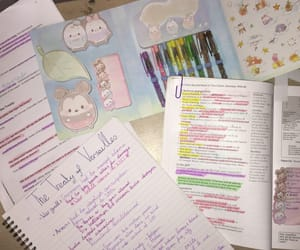 notes, student, and studyblr image