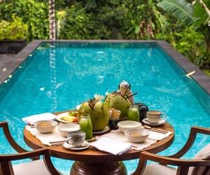 bali, holidays, and pool image