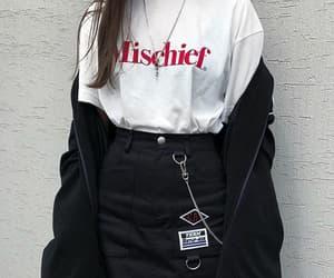 black, coat, and fashionable image