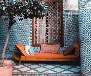 blue, morocco, and orange image